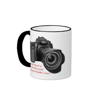 Pachelbel's Camera Ringer Mug