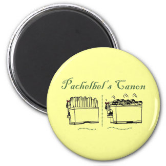 Pachelbel's Canon button Refrigerator Magnet
