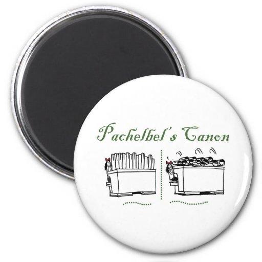 Pachelbel's Canon Fridge Magnets