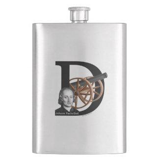 Pachelbel's Canon in D Hip Flask