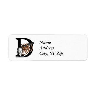 Pachelbel's Canon in D Return Address Label