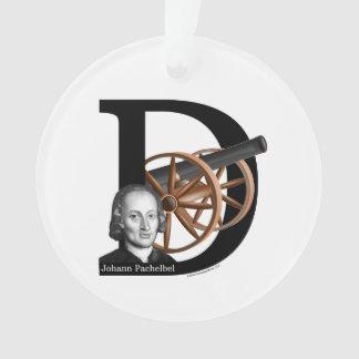 Pachelbel's Canon in D Ornament