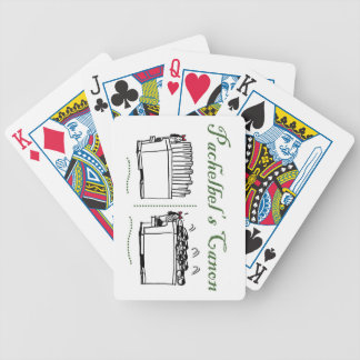 Pachelbel's Canon playing cards