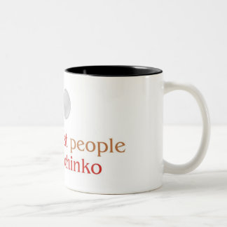 Pachinko Lover's two tone mug