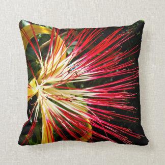Pachira Aquatica Throw Pillows