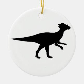 Pachycephalosaurus Dinosaur Ceramic Ornament