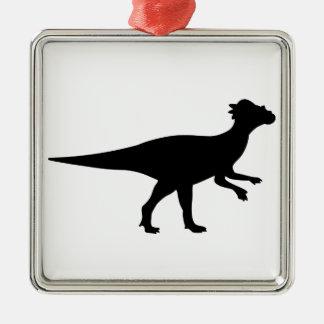 Pachycephalosaurus Dinosaur Metal Ornament