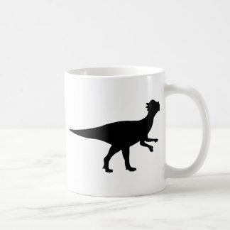 Pachycephalosaurus Dinosaur Classic White Coffee Mug