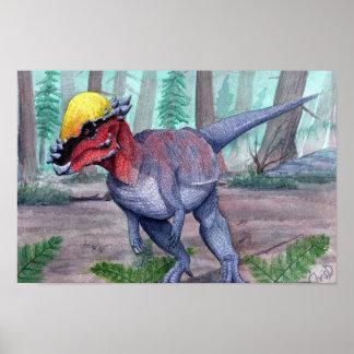 Pachycephalosaurus Print