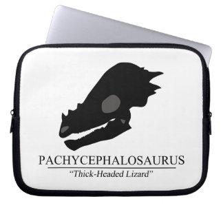 Pachycephalosaurus Skull Computer Sleeve