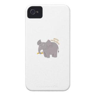Pachyderm bonito Case-Mate iPhone 4 cárcasas