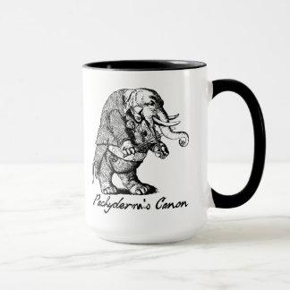Pachyderm's Canon Violin playing Elephant Fiddle Mug