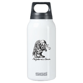 Pachyderm's Canon Violin playing Elephant Fiddle Thermos Bottle