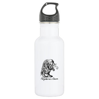 Pachyderm's Canon Violin playing Elephant Fiddle Water Bottle