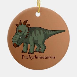 Pachyrhinosaurus Ceramic Ornament