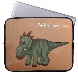 Pachyrhinosaurus Laptop Sleeve