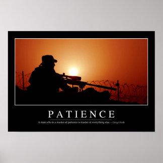 Paciencia: Cita inspirada Póster