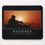 Paciencia: Cita inspirada Tapetes De Ratones