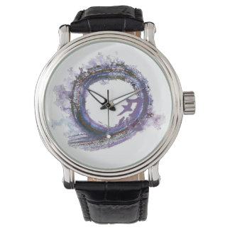 Paciencia en la púrpura - Enso Reloj De Mano