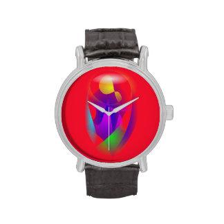 Paciencia roja relojes de mano