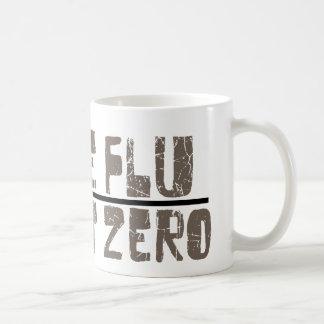 paciente cero de la gripe de los cerdos taza básica blanca