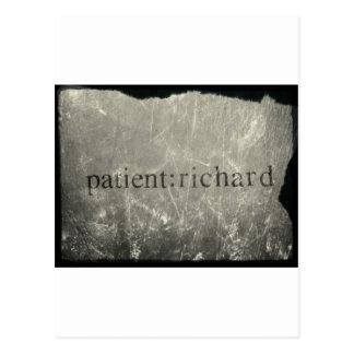 Paciente oficial: Richard Merch Postales