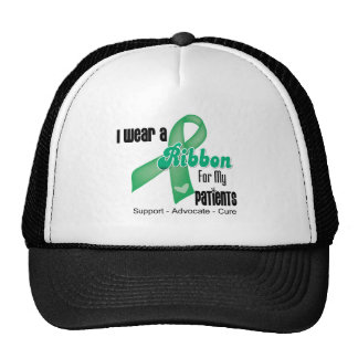 Pacientes - cinta del cáncer de hígado gorro de camionero
