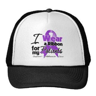 Pacientes - cinta del cáncer pancreático gorras de camionero