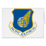 Pacific Air Forces Greeting Card