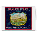 Pacific Apple Crate Label