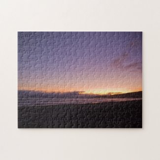 Pacific at Sunset Jigsaw Puzzles