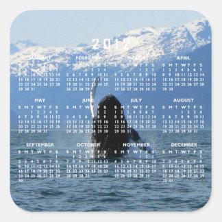 Pacific Ballet; 2012 Calendar Square Sticker