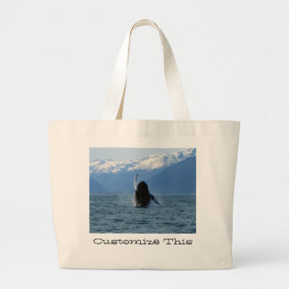 Pacific Ballet; Customizable Large Tote Bag
