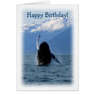Pacific Ballet; Happy Birthday Card