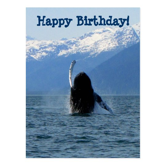 Pacific Ballet; Happy Birthday Postcard