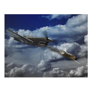 Pacific Battle Postcard