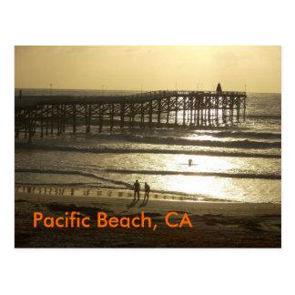 Pacific Beach, CA Postcard