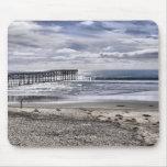 Pacific Beach Pier Mouse Pads