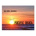 Pacific Beach, San Diego California Postcard