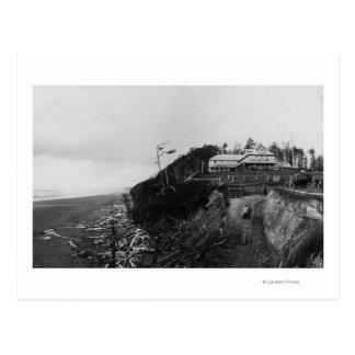 Pacific Beach, WA - Pacific Beach Hotel and Old Postcard
