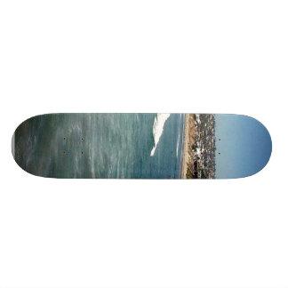 Pacific Beaches Waves Surfers Sand San Diego Ocean Skateboard Deck