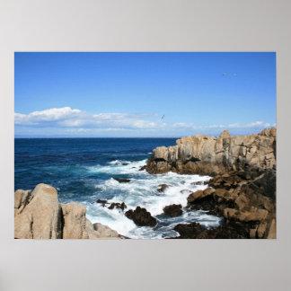 Pacific Coast, Cliffs Photo Posters