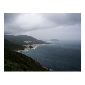 Pacific Coast from Highway 1 Postcard