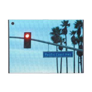 Pacific Coast Highway 1 Sign California Beach Sky Cover For iPad Mini