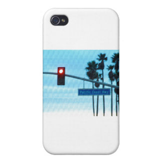 Pacific Coast Highway 1 Sign California Beach Sky iPhone 4/4S Cover