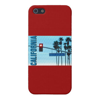 Pacific Coast Highway 1 Sign California Beach Sky iPhone 5/5S Cases