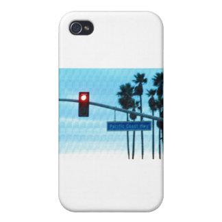Pacific Coast Highway 1 Sign California Beach Sky iPhone 4/4S Case