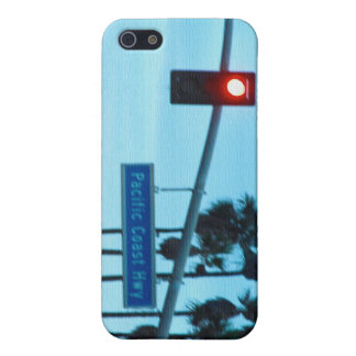 Pacific Coast Highway 1 Sign California Beach Sky iPhone 5 Cover