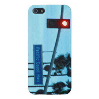 Pacific Coast Highway 1 Sign California Beach Sky iPhone SE/5/5s Cover