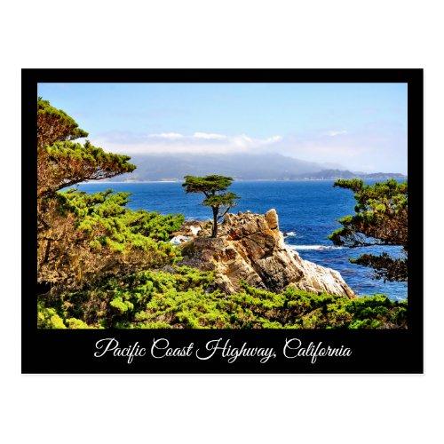 PACIFIC COAST HIGHWAY CALIFORNIA POSTCARD